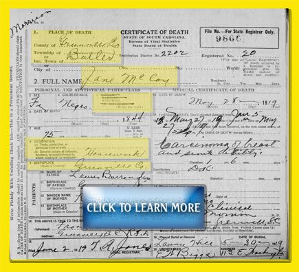 Part 1: How do you research using death certificates? Much of the information gleaned from a death certificate can be used more effectively to connect to other resources that document your ancestor. This article is the first in a series to help beginning researchers extract information from the death certificate to learn more about an ancestor.