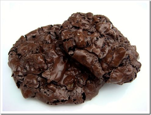 Chocolate Walnut Puddle Cookies | Cookies | Pinterest