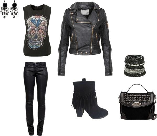 U0026quot;rebel girlu0026quot; by sjohannes on Polyvore | My Style | Pinterest
