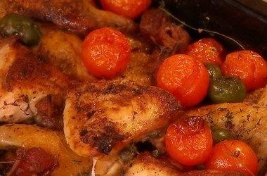 Mediterranean Chicken Bake | GET IN MY BELLY!!!! | Pinterest