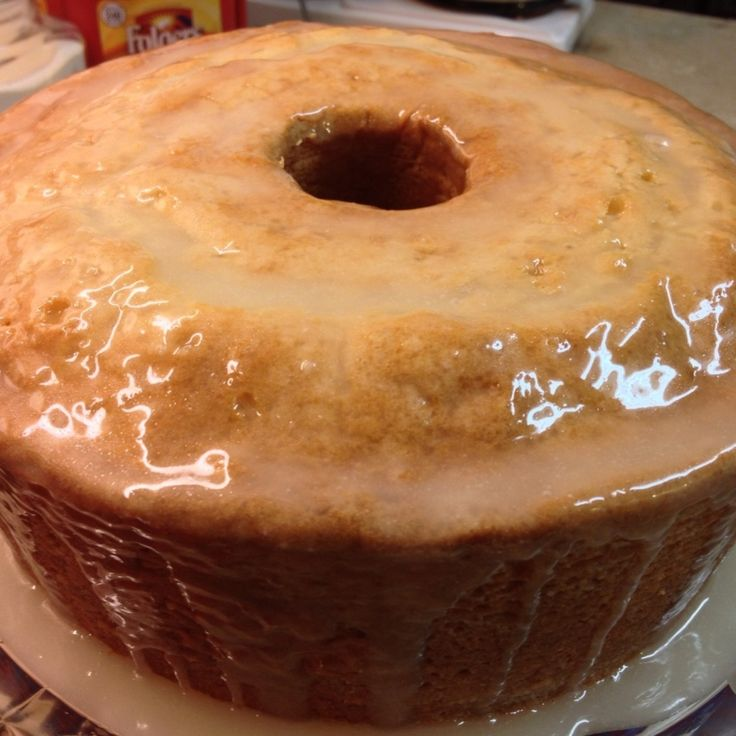 Sour Cream-Buttermilk Pound Cake | Cakes ~ Pound / Bundt | Pinterest