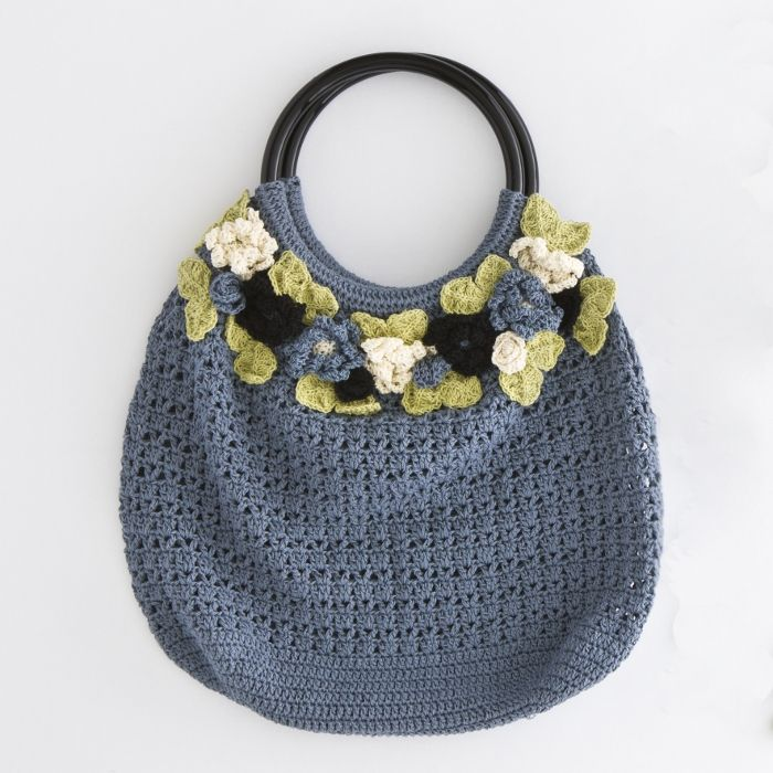 Crochet Flower Purse Pattern : crochet flower purse Crochet Patterns BAGS Pinterest