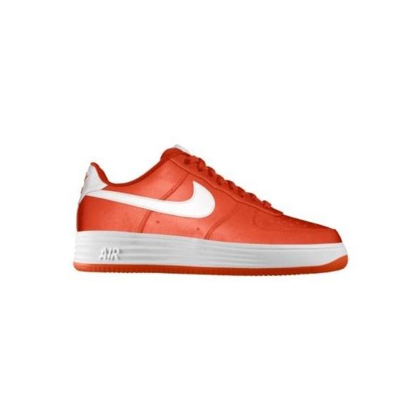 Nike Air Force 1 Low Premium iD Custom Women's Shoes - Orange, 10