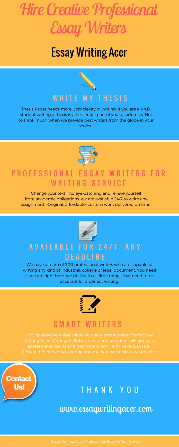 Professional Essay Writing