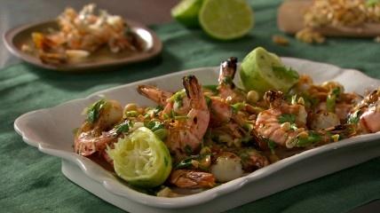 grilled shrimp w/ cilantro lime & peanut | Favorite Recipes | Pintere ...