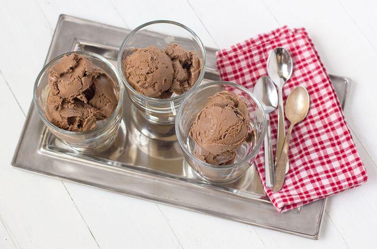 Dark Chocolate Gelato | Grass Fed Kitchen