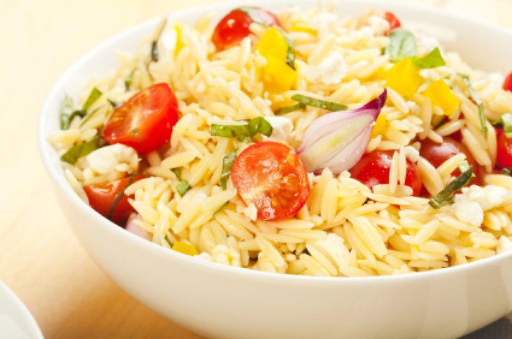 Sweet Million Cherry Tomato Orzo Salad | Recipe