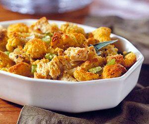 Sweet Potato and Corn Bread Stuffing | Recipe