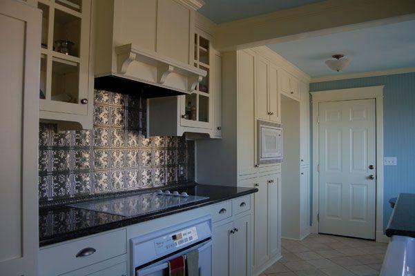 pressed tin backsplash kitchen to cook in pinterest
