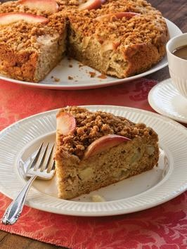 Apple-Studded Brown Butter Streusel Coffee Cake | Recipe