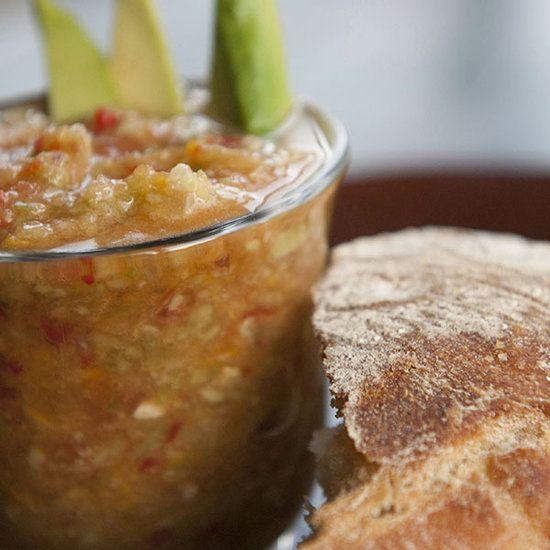 Heirloom Tomato Gazpacho | Family Recipes | Pinterest