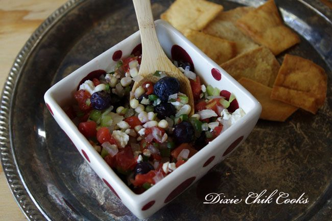 ... with strawberry pineapple salsa strawberry blueberry tart jicama1