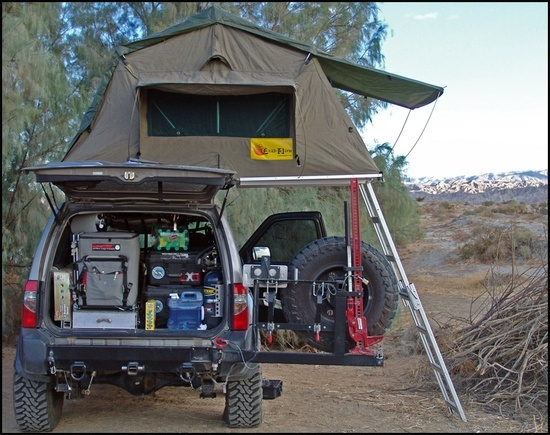Bug Out Shelter Ideas : Roof top shelter bug out idea vehicles pinterest