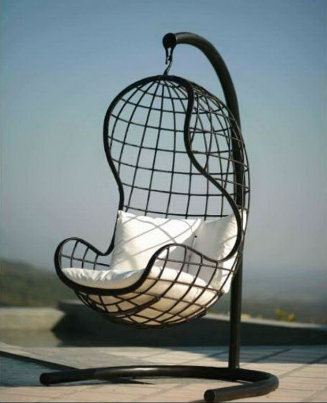 Hanging basket chairs bing images products i love for Hanging chair images