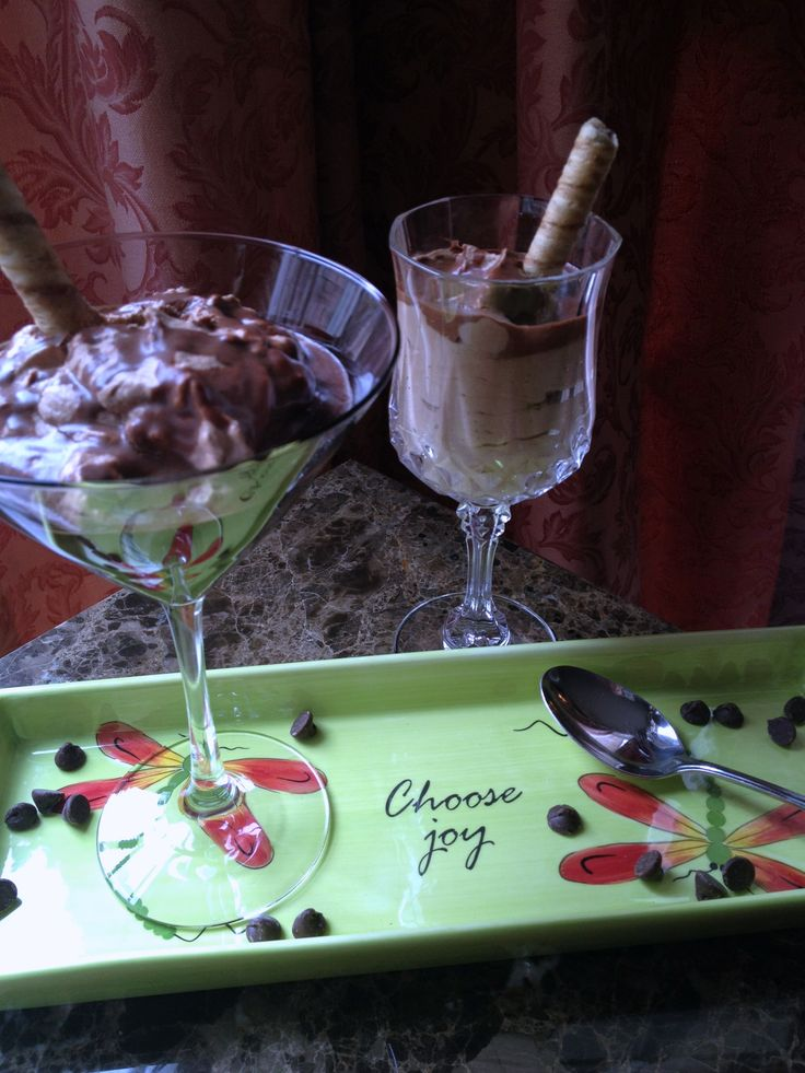 Chocolate Kahlua Mousse | Apples of Gold | Pinterest