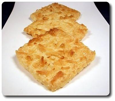 Coconut-Macadamia Shortbread Cookies | Desert Recipes | Pinterest
