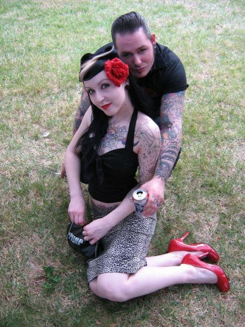 rockabilly couple | Rockabilly Hair, Clothing and Makeup ...