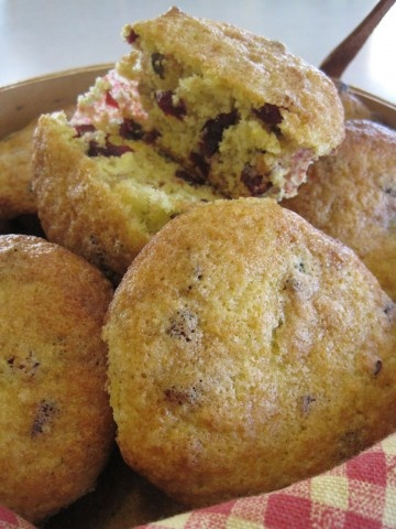 Cranberry Orange Muffin Recipe / gonna try this with almond flour so ...