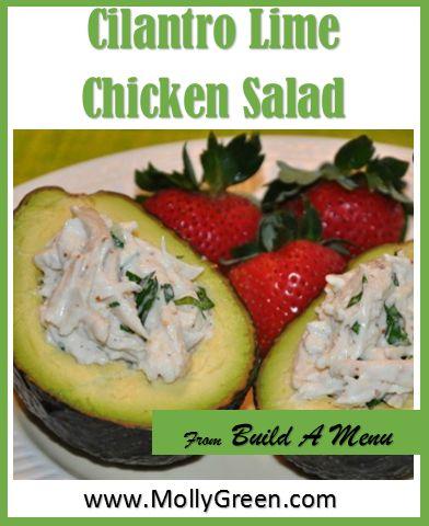 Cilantro Chicken Salad | A Salad Kind of Day | Pinterest