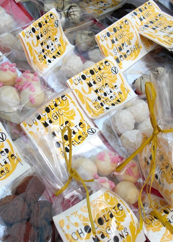 truffles packaging ideas