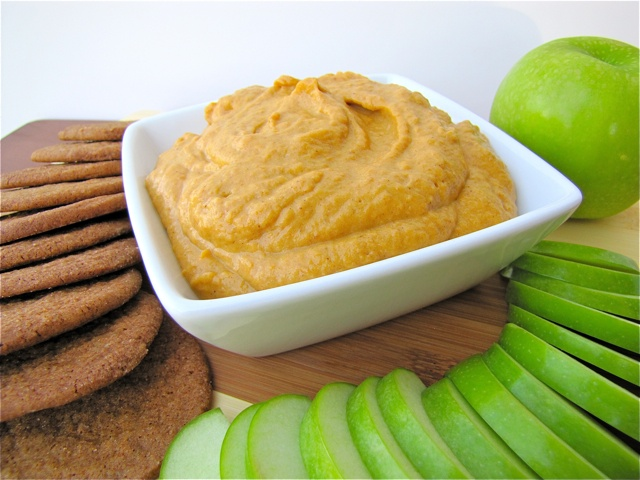 ... Kochen Und Backen Adventures: Pumpkin Dip and Gingersnap Cookies