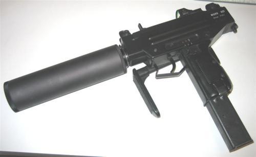 9mm micro uzi with suppressor | Weaponry | Pinterest