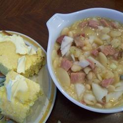 Basic Ham and Bean Soup Allrecipes.com