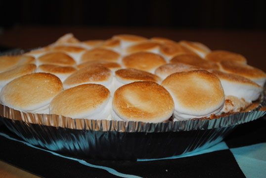 ... of the week - Indoor S'More Pie | Coffee Break with Liz and Kate
