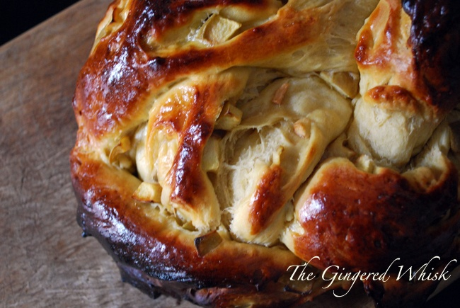 Apple and Honey Challah (Smitten Kitchen)
