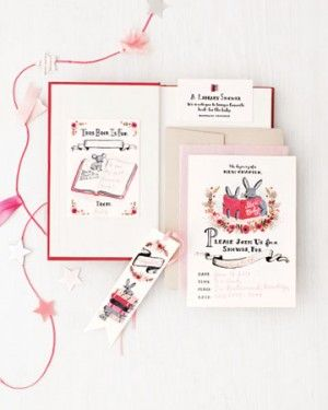 A Book Themed Baby Shower By The Sweetest Occasion