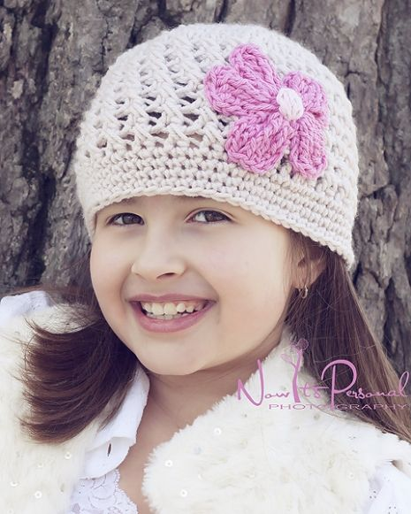 Crochet Pattern Hat Girl : girls crochet hat pattern Crocheting Pinterest