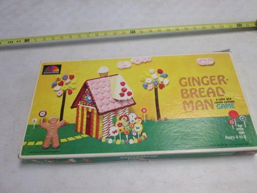 Gingerbread Man 1964 | VINTAGE:BOARD GAMES,CARD GAMES,ETC | Pinterest