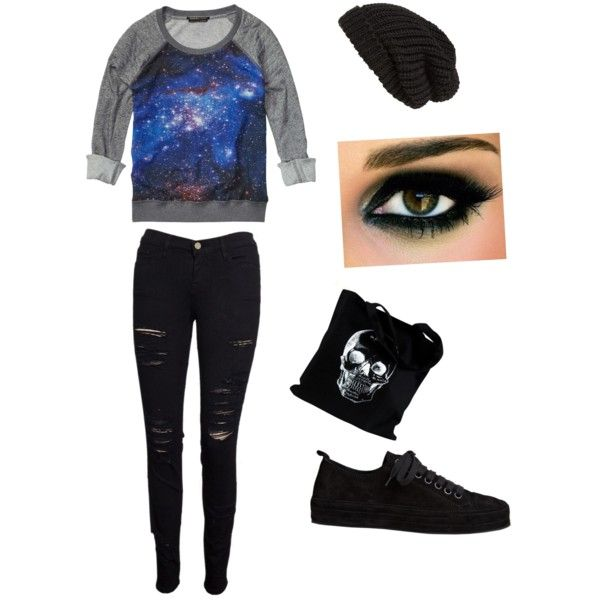 Galaxy outfit - Polyvore | My style! | Pinterest
