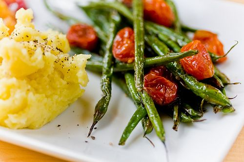 Tender Lamb Brochettes With Thyme And Haricots Verts Recipe ...