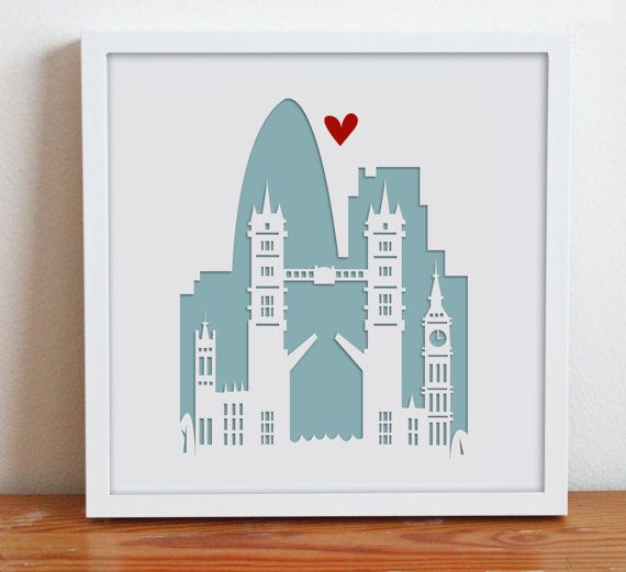 Wedding Gift Ideas London : London. EnglandLondon Bridge. Personalized Gift or Wedding Gift