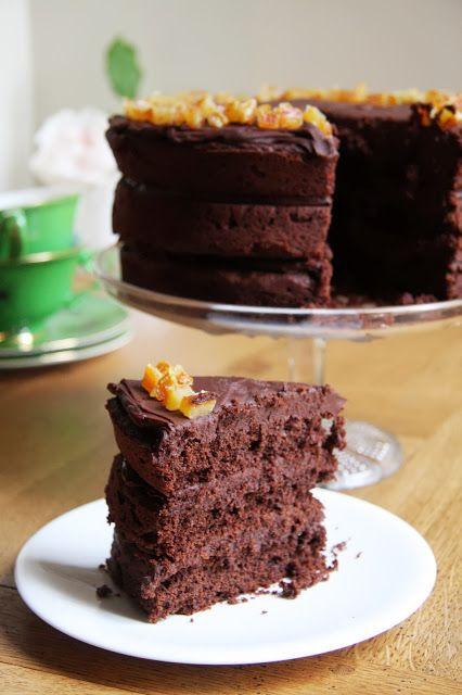 Chocolate & Orange Maya Gold Layer Cake   Cake   Pinterest
