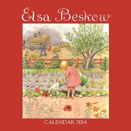 Elsa Beskow 2014 Calendar. Enjoy a year full of Elsa's charming illustrations!