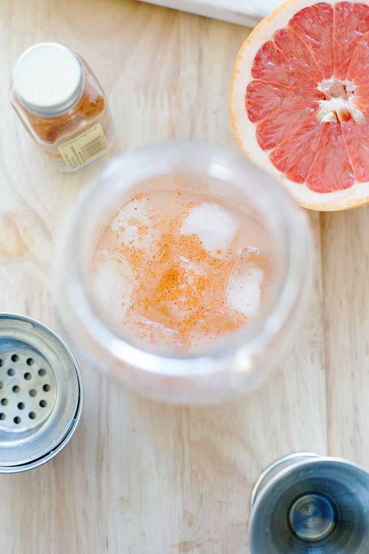 Spicy Grapefruit Margarita | H A P P Y - H O U R | Pinterest