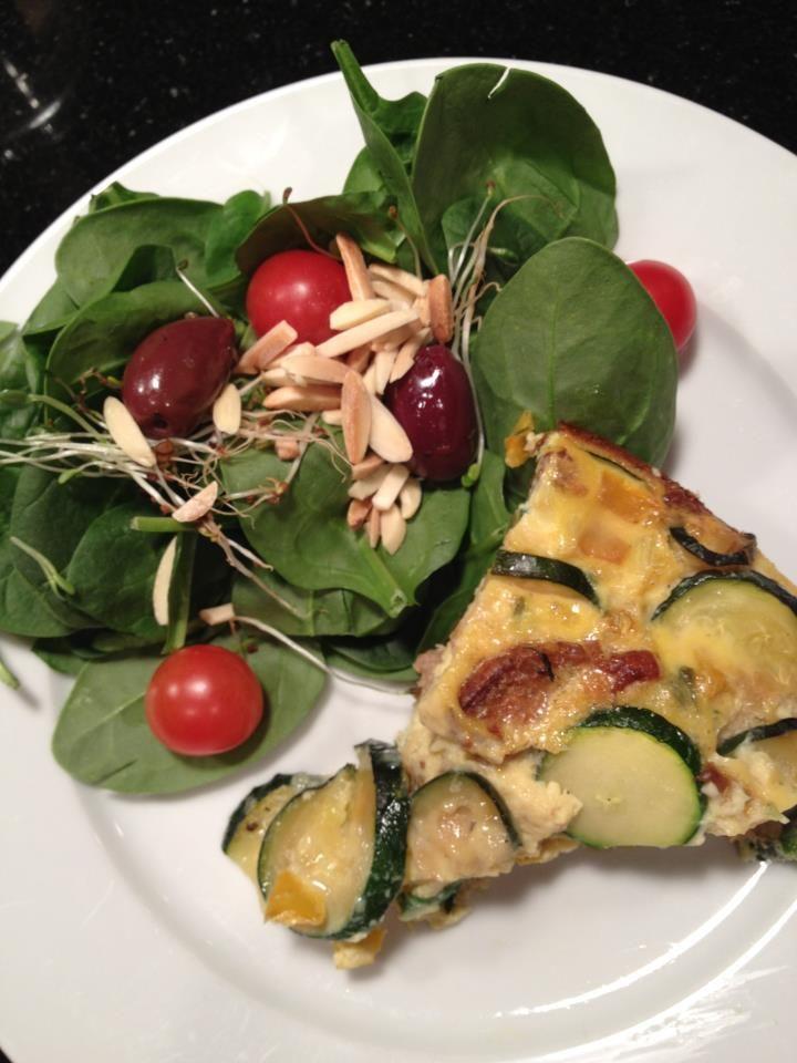 Vegetable and Turkey Sausage Frittata | Breakfast Bites | Pinterest