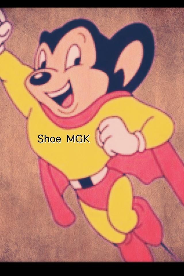 Pinned by Shoe MGK