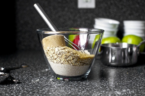 yogurt multigrain apple crisps recipe dishmaps multigrain apple crisps ...