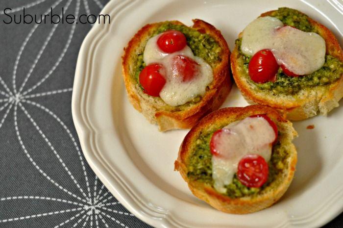 Easy Pesto Mozzarella Melts | Recipe