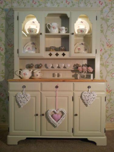Ducal Pine Farmhouse Kitchen Welsh Dresser Shabby Chic