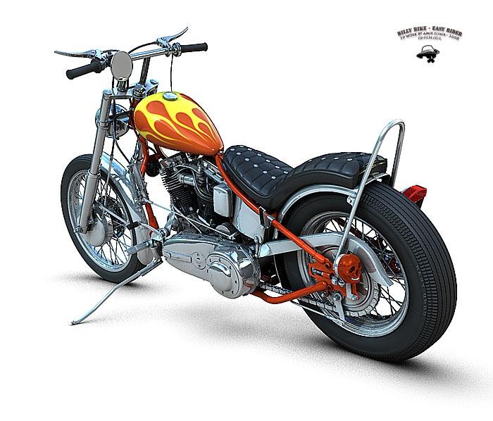 billy bike easy rider 1969 motorcycle art pinterest. Black Bedroom Furniture Sets. Home Design Ideas