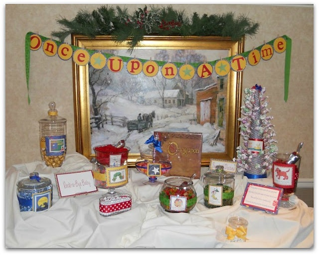 storybook themed baby shower story book birthday party pinterest