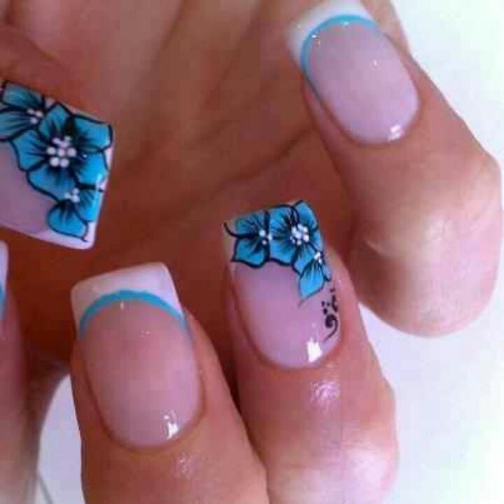 Hawaiian Nails | nails | Pinterest
