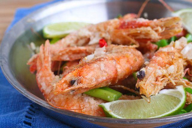 Salt and Pepper Shrimp! | Asian Persuasion | Pinterest