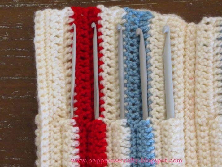 Free Crochet Pattern Hook Case : Crochet Hook Case ~ Free Pattern Yarn Organization Ideas ...