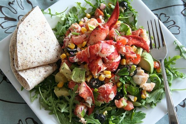 Lobster Salad Recipe — Dishmaps