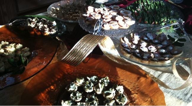 Chutney on Granola Toast, Wild Mushroom Risotto Cakes, Twice Baked ...